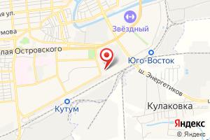 Адрес Восточная на карте