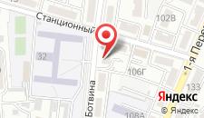 Отель Авеню на карте