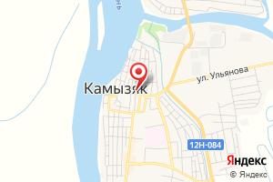 Адрес Газпром газораспределение Астрахань, Камызякская районная служба на карте
