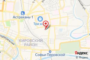 Адрес МУП Канализационно-насосная станция № 52 Астрводоканала на карте