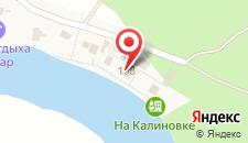 База отдыха На Калиновке на карте