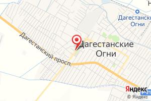 Адрес Газпром газораспределение Дагестан, Эгс г. Дагогни на карте