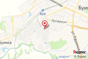 Адрес Газстрой на карте