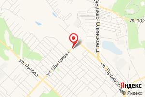 Адрес Газпром межрегионгаз Йошкар-Ола, абонентский участок в г. Волжск на карте