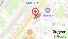 Гостиница Ракурс на карте