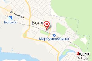 Адрес ТНС энерго Волжск и Волжский район на карте