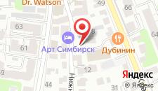 Мини-гостиница Медведефф Центр на карте