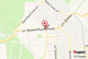 Адрес Ульяновскводоканал, МУП, управление сбыта на карте