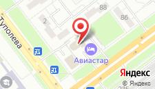 Гостиница Авиастар на карте