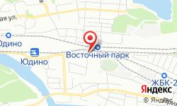 Расположение Юдинский линейный отдел Горьковской дирекции по энергообеспечению на карте