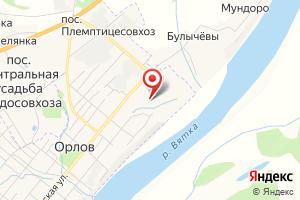Адрес Орловский водоканал на карте