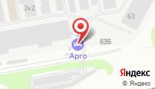 Гостевой дом Арго на карте