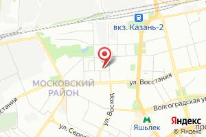 Адрес Казаньгоргаз на карте