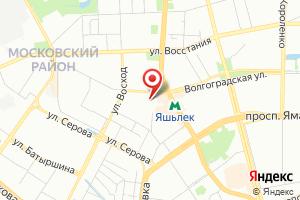 Адрес Газбыт на карте