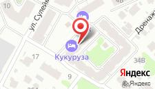 Хостел КУКУРУЗА на карте