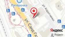 Гостиница Домотель на карте