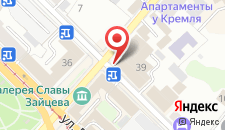 Отель Ramada Kazan City Centre на карте