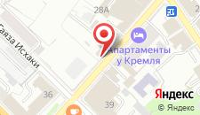 Отель Бахет на карте
