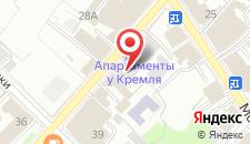 Апартаменты У Кремля на карте