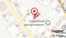 Хостел Наш Дом на карте