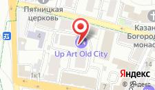 Хостел У Кремля на карте
