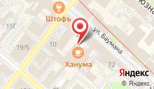 Гостиница Каганат на карте