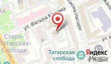 Гостиница Каушчи на карте