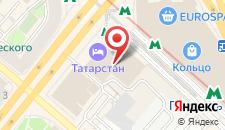 Гостиница Татарстан на карте