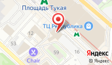 Отель Европа на карте