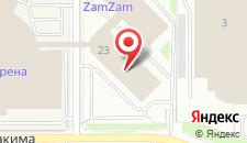 Хостел Зам-Зам на карте