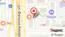 Апартаменты Sibgat на карте