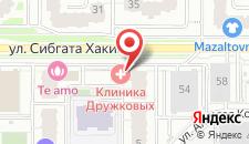 Апартаменты Казань Арена на карте
