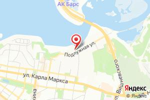 Адрес Газпром межрегионгаз Казань на карте