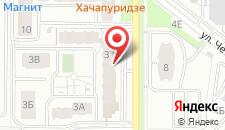 Апартаменты Адорацкого на карте