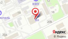 Хостел Огурец на карте