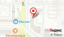 Апартаменты На Адоратского 4 на карте
