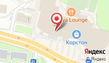 Отель Корстон Тауэр Казань на карте
