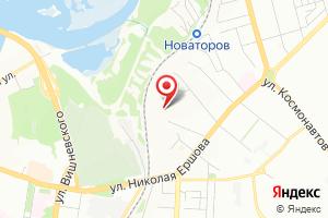 Адрес Комэнерго на карте