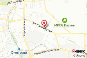 Адрес Ирбис на карте