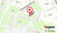 Гостевой дом На Олонетской, 2 на карте
