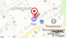 Гостевой дом На Каспийской на карте