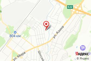 Адрес Мобильгаз-СВ на карте