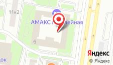 Гостиница AMAKS Юбилейная на карте