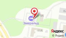 Гостиница Эмеральд на карте
