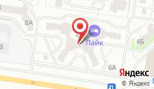 Хостел Лайк на Спортивной на карте