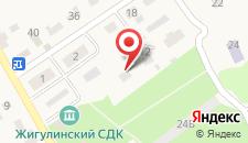 База отдыха Приволье на карте