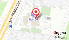 Гостиница Алтек на карте