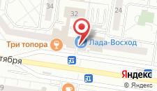Гостиница Лада-Восход на карте