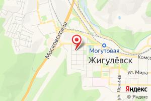 Адрес Газпром межрегионгаз Самара на карте