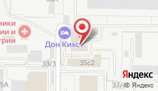 Гостиница Дон Кихот на карте